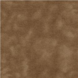 A E Nathan 108'' Wide Mottled Flannel Brown