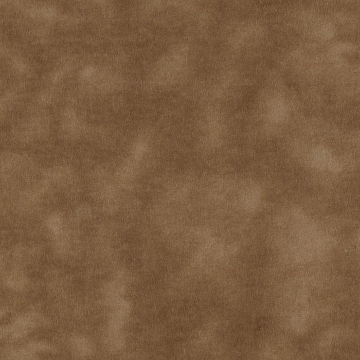 108'' Wide Mottled Flannel Brown Fabric