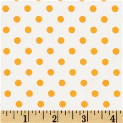 Michael Miller Neo Dot Orange Fabric