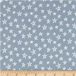 Notepad Stars Grey