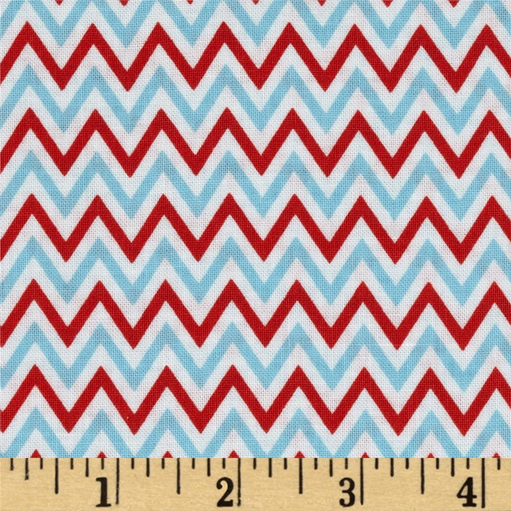 Fox Playground Chevron Aqua