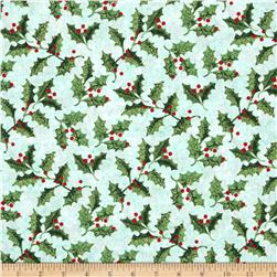 Holly Jolly Holly Light Teal