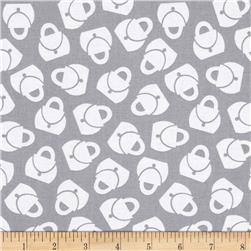 Fashion Plate Purse Grey