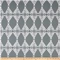 Premier Prints Pow Wow Sundown Grey