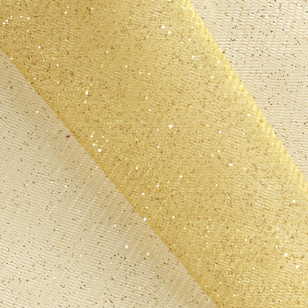 Sparkle tulle gold discount designer fabric for Sparkly material