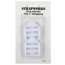 Strapworks Strap Adjuster White 1""