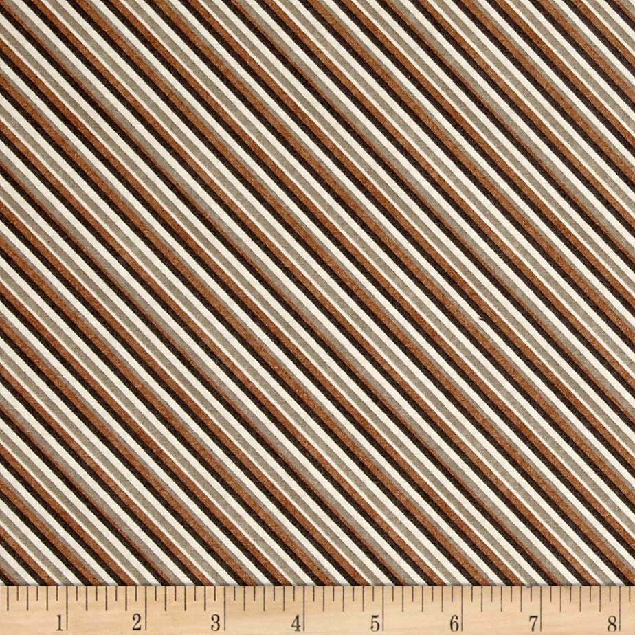 Type Band Diagonal Stripe Toast