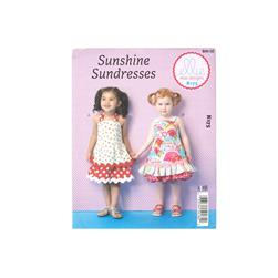 Ellie Mae Designs Sunshine Sundress Toddler Dress Pattern