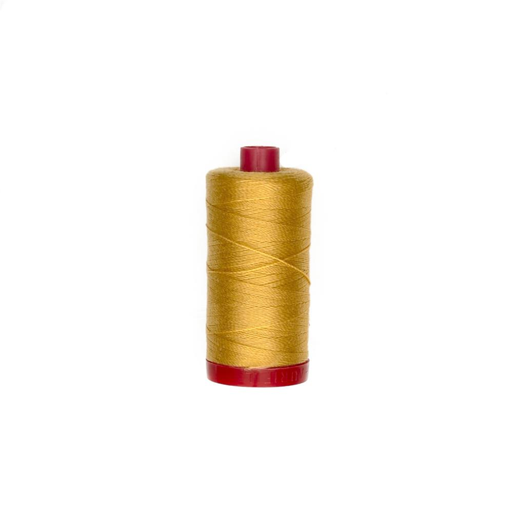 Aurifil 12wt Embellishment and Sashiko Dreams Thread Tarnished Gold