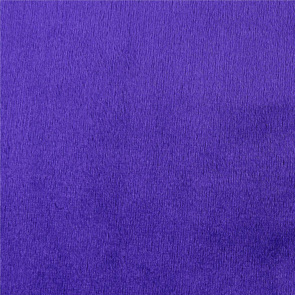 Shannon Minky Cuddle 3 Purple