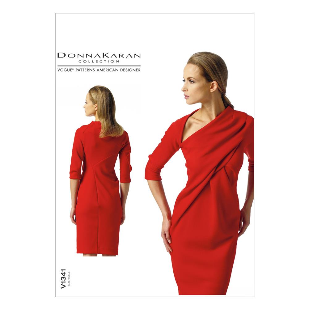 Vogue Misses' Dress Pattern V1341 Size A50