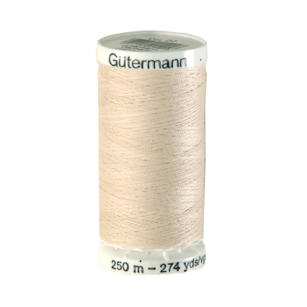 Gutermann Sew-all Polyester All Purpose Thread 250m/273yds Eggshell