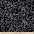 Premier Prints Small Paisley Black/White