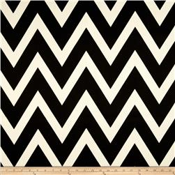10 oz. Bull Denim Chevron Natural/Black Fabric