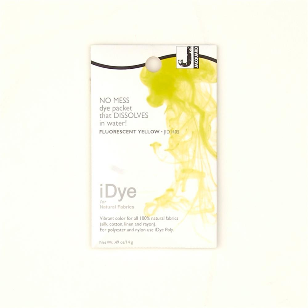 Jacquard iDye Natural Fiber Dye Fluorescent Yellow