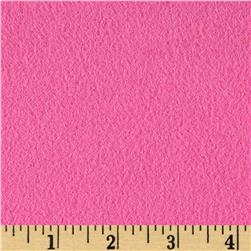 Fluffy Flannel Solids Raspberry