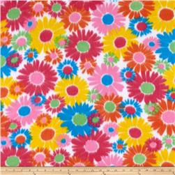 Polar Fleece Print Anouk Flower Power Blue