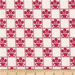 Tilly Gingham Red