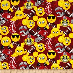 Collegiate Cotton University of Alabama Emoji