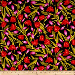 Kanvas Bloom With A View Tulips Red/Pink