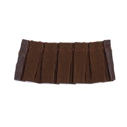 "Fabricut 1.25"" Switchfoot Trim Cocoa"