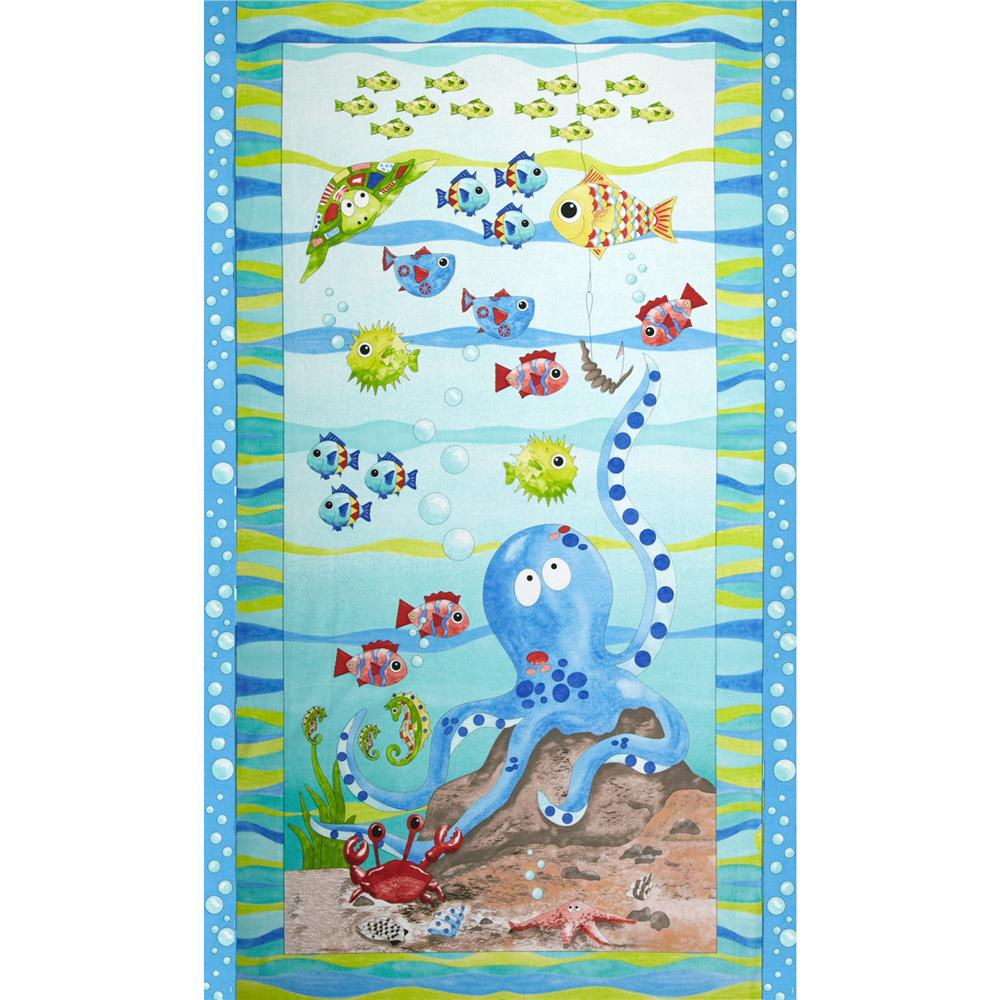 Under the Sea Panel Blue