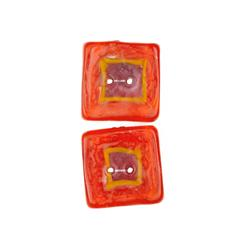 Fusion Glass Button Square 1