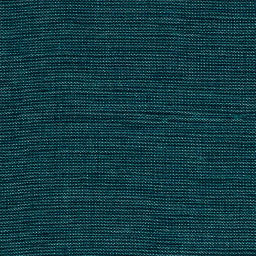 Yarn Dyed Cotton Blend Shirting Turquoise