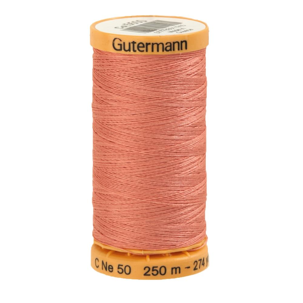 Gutermann Natural Cotton Thread 250m/273yds Light Rose