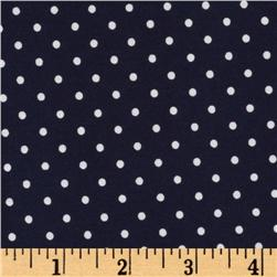 Pimatex Basics Dots Navy Fabric