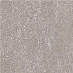 Faux Soft Skin Leather Silver