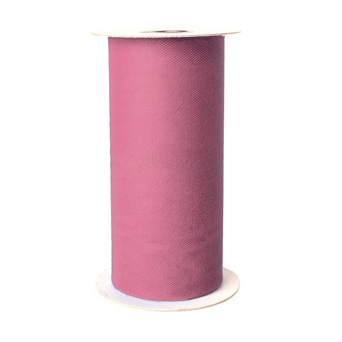 Tulle Spool Dusty Rose