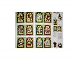 Susan Winget Old World Christmas Twelve Days of Christmas 36 In. Panel Soft Book Multi