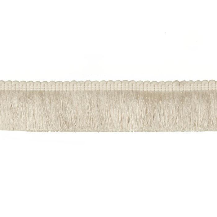 "Duralee 2 1/4"" Brush Fringe White"