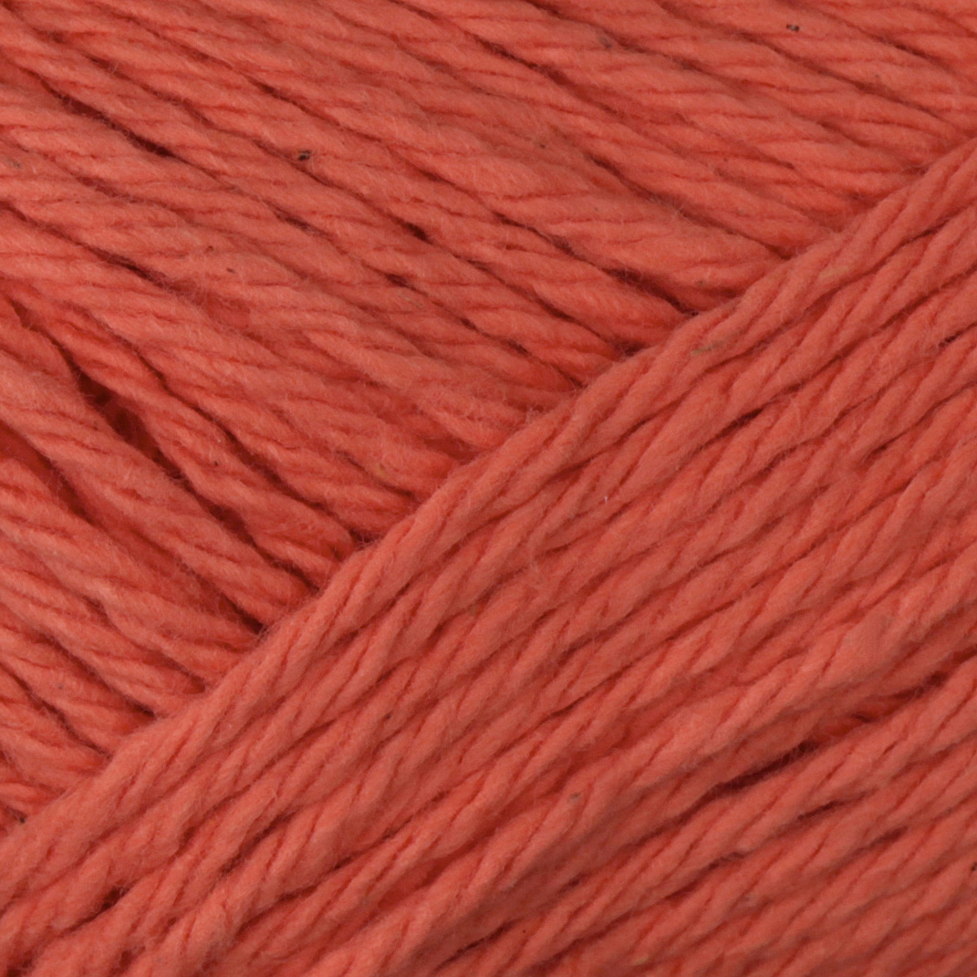 Peaches & Creme Solid Yarn (1699) Tangerine