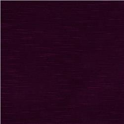 Stretch Rayon Slub Jersey Knit Plum