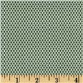Perrymint Crosshatch Green