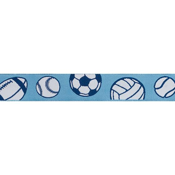 "7/8"" Ribbon Sports Blue"