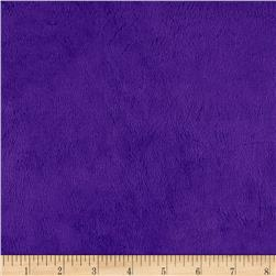Michael Miller Minky Solid Bright Purple