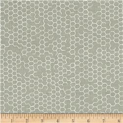 Kanvas Fowl Play Chicken Wire Gray