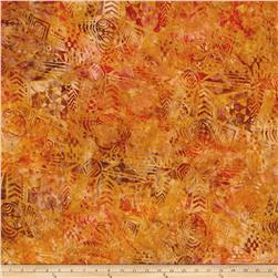 Timeless Treasures Tonga Batik Autumn Tribal Cloth
