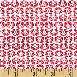 Riley Blake Ooh La La Wreath Red