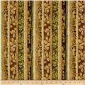 Fernwood Stripe Golden Green
