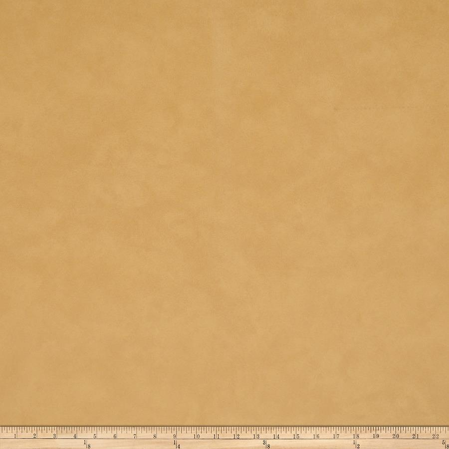 Fabricut Toffee Faux Leather Camel