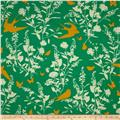 Joel Dewberry Bungalow Swallow Study Emerald