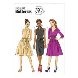Butterick Misses' Dress Pattern B5850 Size B50