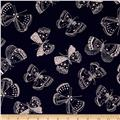 Whisper Butterflies Navy