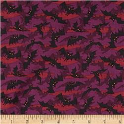 Haunted Hill Small Toss Bats Eggplant