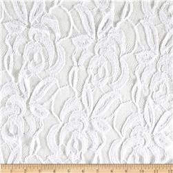 Novelty Crochet Lace White