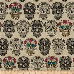 Calavera Cream/Multi